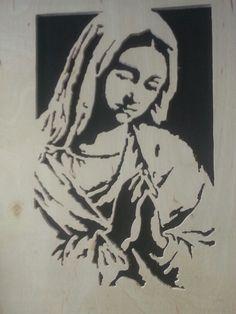 Scroll saw Mary