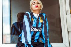 Sportswear and Activewear Photographer — Jay Mawson Photographer Football Girls, Football Outfits, Sport Outfits, Classic Football Shirts, Vintage Football Shirts, Jersey Retro, Jersey Fashion, Sports Luxe, Sporty Look