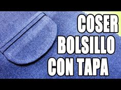 Tutorial: Bolsillo con tapa - YouTube