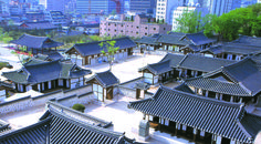 서울 남산골의 한옥마을  도시속의 전통의 숨결이 느껴집니다.  70년 #전통 #한국식 #기와 의 #정신 #동부요업 #korean #traditional #teracotta #rooftiles #specialist #dbceramic #architecture #design #inspiration #tilers #nofilter  #roof #asian #city