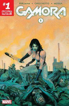 Gamora (2016) #1 #Marvel @marvel @marvelcomics #Gamora (Cover Artist: Esad Ribic) Release Date: 12/21/2016