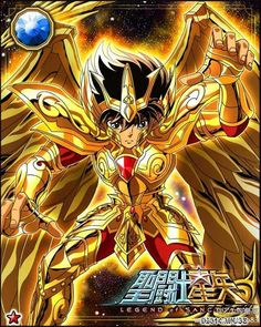 Sagitarius Seiya 1 Galaxy Cards version Saint Seiya Legend of Sanctuary
