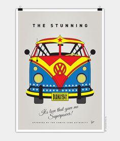 Quand le combi Volkswagen se déguise en super-héros