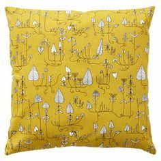 Ihastuttava tyynynpäällinen on yksi Klippan Yllefabrikin kauniista Moorland-tekstiileistä.Tyynynpäällisen kuosi on saanut innoituksensa Englannista ja maan kauniista maisemista. Tyynynpäällinen on erinomainen valinta sohvalle tai sängylle pieneksi sisustuselementiksi.
