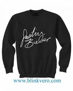 Justin Bieber Signature Life Style Girls and Mens Sweatshirt size S to XXXL Unisex Adult //Price: $26.77 & FREE Shipping //     #gift shirts