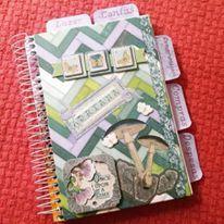 A que fiz pra mim fez tanto sucesso que já tive encomendas. Mais um trabalho terminado, sensação de missão cumprida! #Organizer #Paper #Craft #ScrapBook #ScrapDecor #FeitoaMão #Artesanato #Artes #BoBunny #Garden