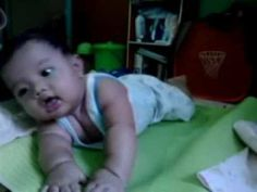My lovely son when he was five month old.