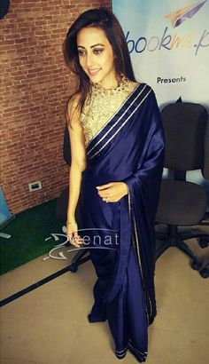 Movies balu mahi pinterest movie ainy jaffri promotes balu mahi in natasha kamal saree altavistaventures Choice Image