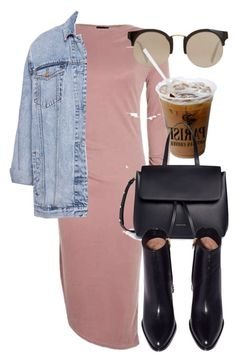 Untitled #6301 by laurenmboot on Polyvore featuring polyvore, fashion, style, Topshop, Pull&Bear, Mansur Gavriel, MANGO and clothing