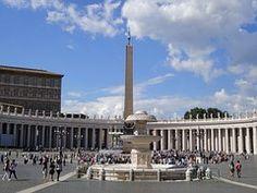 Plaza De San Pedro, Roma,  Italia