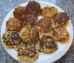 Food Lust People Love: Cheesy Cauliflower Pancakes