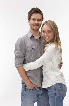 Graham Wardle and Amber Marshall. (Heartland Photoshoot. Season 6)