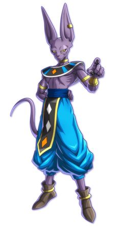 Beerus from Dragon Ball FighterZ