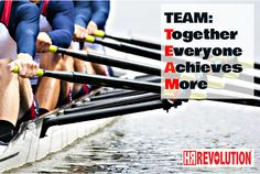 TEAM: Together Everyone Achieves More.  @HRREV our mission it to offer HR Outsourced services for UK businesses. Real people, providing real HR solutions for businesses with real drive""