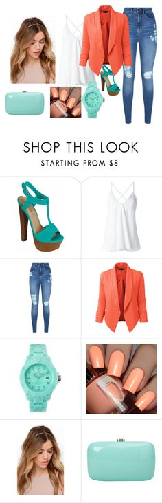 """""""Untitled #538"""" by anasofiasousavieira on Polyvore featuring Dondup, Lipsy, LE3NO, Toy Watch and Rocio"""