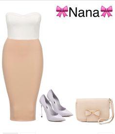 Une tenue chic pღur aller en ville.   Créer par Nana.