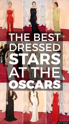 See who made our Oscars best dressed list!