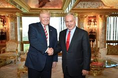 Trump invited Netanyahu to Washington to discuss close cooperation in a number of areas, including Iran's nuclear program and the renewal of peace talks with the Palestinians.