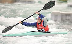 Rapid appeal: Fraser Smalley was inspired to take up canoeing after seeing Etienne Stott win gold at the Olympic Games Olympic Games, Olympics, Canoeing, London, Inspired, Sports, Join, Inspiration, Hs Sports