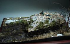 Dioramas and Vignettes: The Hunteress. Spring 1945, photo #18