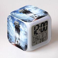 Star Wars Alarm Clocks digital watch LED Color Changing