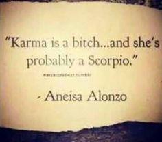 #karma #scorpio