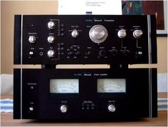 Speaker Amplifier, Stereo Speakers, Radios, Music Studio Room, Antique Radio, Audio Room, Audio Sound, Tape Recorder, High End Audio