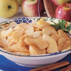 Scalloped Apples Recipe...microwave recipe