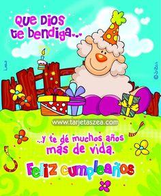 Resultado de imagen para imagenes de tarjetas de feliz cumpleaños zea