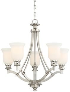 Ameche 5-Light Shaded Chandelier & Reviews | Birch Lane