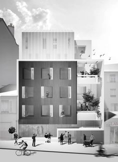 """David Chipperfield and Sou Fujimoto unveil visions for """"Paris of tomorrow"""""""
