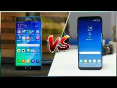 Samsung Galaxy S8 VS Galaxy Note 5 Comparison