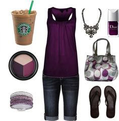 """Cute Dressed up, yet casual summer look"" by chelseawate ❤ liked on Polyvore"