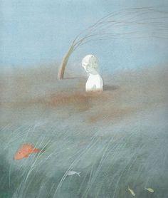"Lisbeth Zwerger Illustrations for ""The Little Mermaid"" Lisbeth Zwerger, Children's Book Illustration, Character Illustration, Food Illustrations, Psychedelic Drawings, Fairytale Art, Art Academy, The Little Mermaid, Creative Art"