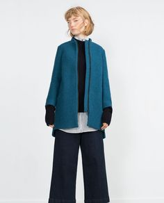 WOOL COAT-View all-Outerwear-WOMAN   ZARA United States