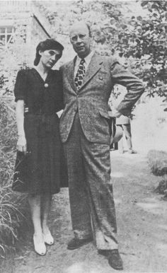 Sergey Prokofyev and his second wife