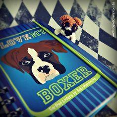 Caderno para quem ama Boxer ♥