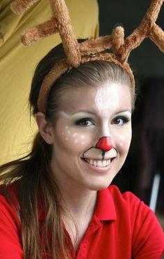 Projectville: Craft, DIY, Art, and Beauty: DIY Reindeer Face Paint