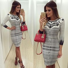 Sexy Women Casual Bandage Bodycon Long Sleeve Evening Party Cocktail Mini Dress #Unbranded #Sexy #Casual