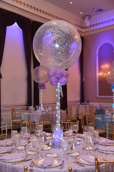 Aqua Gems Centerpieces · Party & Event Decor · Balloon Artistry - Aqua Gems Centerpieces · Party & Event Decor · Balloon Artistry The Effective Pictures We Offer Y - Led Centerpieces, Sweet 16 Centerpieces, Wedding Centerpieces, Wedding Decorations, Quince Centerpieces, Birthday Table Decorations, Bubble Balloons, Wedding Balloons, Love And Marriage