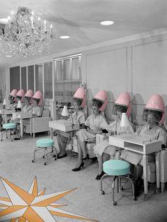 Vintage Hair Salon Photograph  - Vintage Hair Salon Fine Art Print