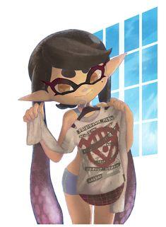 Ugh I love her Splatoon 2 Game, Splatoon Comics, Splatoon Squid Sisters, Squid Girl, Callie And Marie, Rawr Xd, Spiderman Art, Cartoon Memes, Cute Characters