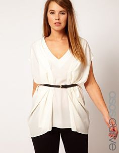have been looking for a top like this! - ASOS CURVE Origami Top