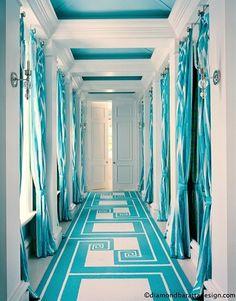 This I call a designer corridor.....Bravo!