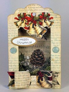 Craftwork Cards Blog: The Magic of Christmas Tag Pad - card by Neil Burley