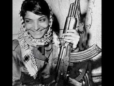 Woman fighter of PALESTINE