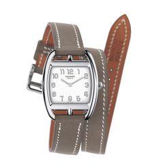 Montre Cape Cod d'Hermès double bracelet - Marie Claire