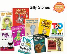 Looking for a laugh? Try one of these silly stories! You have until Sept 5 to log your reading minutes at scholastic.com/summer! #summerreading