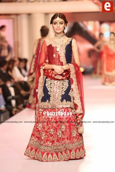 HSY Collection at Telenor Bridal Couture Week 2015 (#TBCW2015)