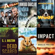 Today's #StaffPicks include science fiction, animal friends, thrilling mysteries, and Bradley Cooper. What more do you need?  - The A-Team  - Never Look Away by Linwood Barclay  - Woof by Spencer Quinn - Dead Scared by SJ Bolton - If You Plant a Seed by Kadir Nelson - Impact by Douglas Preston